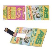 Бренд PromotionUSB Stick USB Флэш-Накопитель 32 ГБ Pen Drive Индивидуальные Красочная Печать Логотип Свадебный Подарок Имя Карты DIY логотип