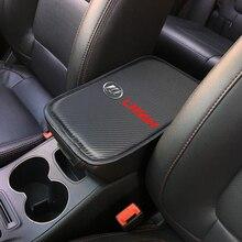 Авто аксессуары для автомобилей Мягкие центральная консоль для отдыха руки, коробка, Подушка накладка подлокотник сиденья защитный коврик для lifan Солано x60 x50