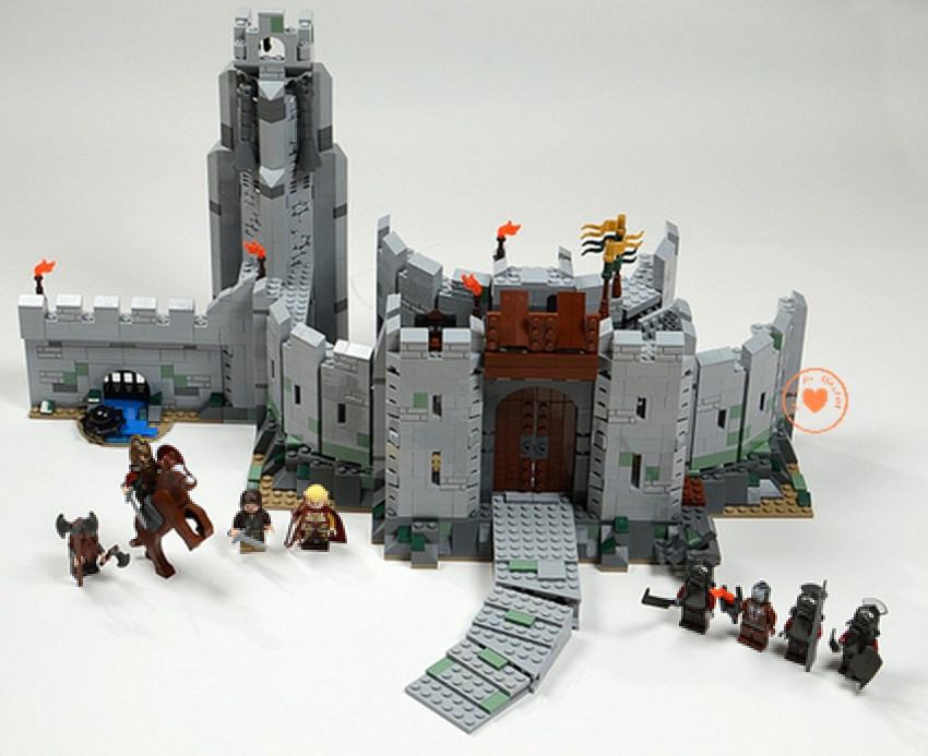 New The Lord of the Rings Battle Of Helm' Deep fit legoings castle military figures Model Building Blocks Bricks 9474 kid gift single sale medieval castle knights dragon knights the hobbits lord of the rings figures with armor building blocks brick toys