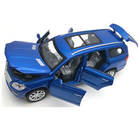 1 32 6 Doors Can Be Opened S GL500 Simulation Car Model Boys Pull Back Matte