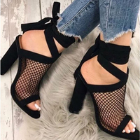 Sexy Women Pumps 2018 Heels Shoes Women S Shoes Fashion High Heels Mesh Women Shoes Best