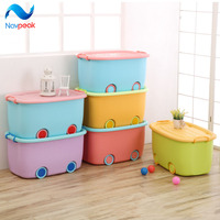 Navpeak 4pcs/lot Multipurpose Storage Box Plastic Box Storage Box of clothing Classification of Ministry of Interior