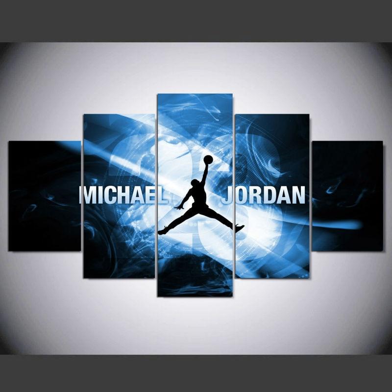 venta caliente michael jordan estrella cartel cuadros decoracion de pared cuadros para la sala de pintura
