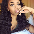 8A Deep Wave Malaysian Lace Front Human Hair Wigs With Baby Hair 150% Density Full Lace Wig Bleached Knots Lace Front Wig