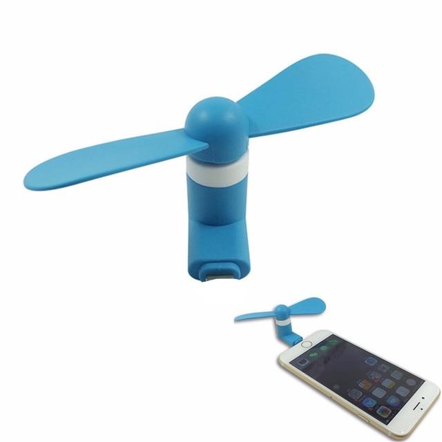 8Pin Mini Portable Dock Cool Cooler Rotating Fan
