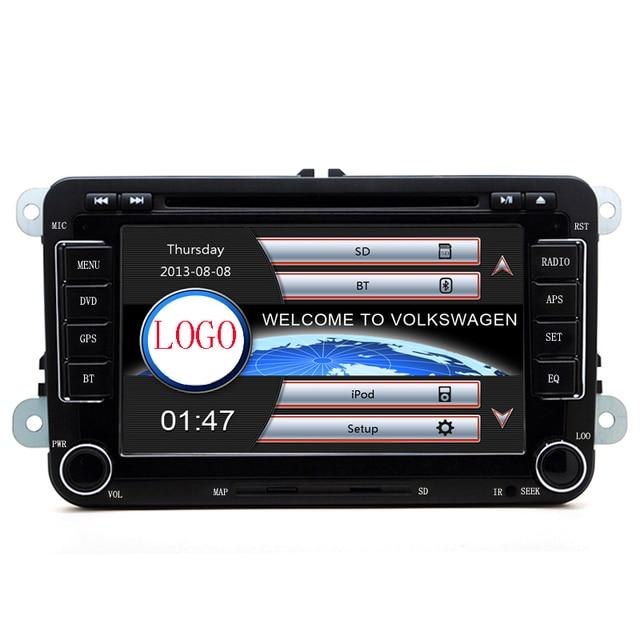 "rns510 2din 7""screen canbus Car DVD with GPS Navigation for VW JETTA PASSAT/B6/CC GOLF 5/6 POLO Touran Tiguan Caddy SEAT"