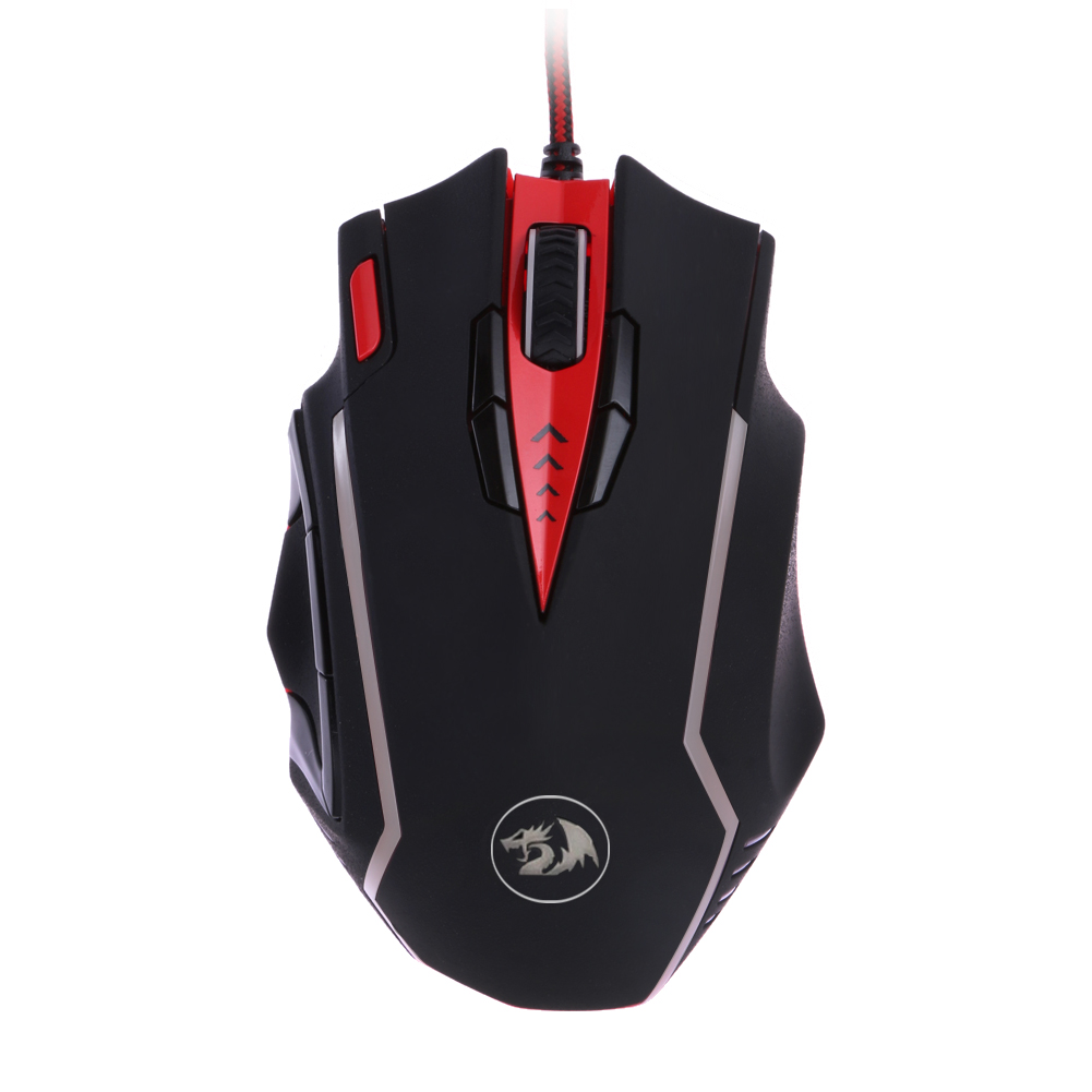 ФОТО Professional Gamer Mice Redragon M902 Samsara Wired Programmable Buttons 16400DPI Adjustable Laser Engine Gaming Mouse