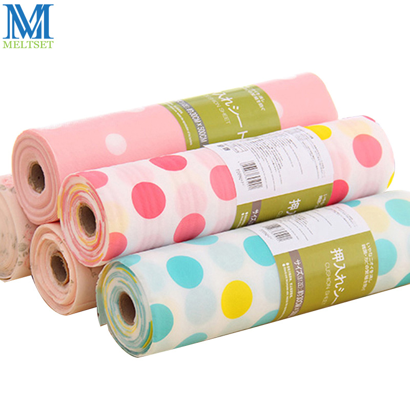 30X300 CM / PC (1 Roll) Colorful Kitchen Drawer Mat Waterproof Drawer Paper Praktis Table Mat