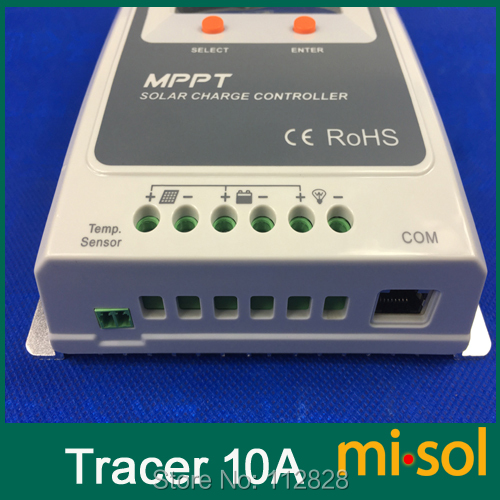 Misol Tracer MPPT Solar regulator 10A with remote meter, 12/24v, Solar Charge Controller 10A, NEW
