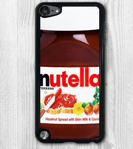 Caso de telefone, chocalate Nutella garrafa durável tpu capa para 5 5S célula de silício 6 6 além disso galaxy S3 S4 S5 S6 borda Note 2 3 4