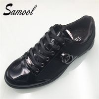 Men S Braid Genuine Leather Casual Driving Oxfords Shoes Samool Male Weave Loafers Moccasins Italian Shoes