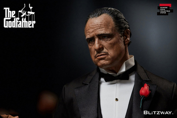 For Collection In Stock 1/4 BW-SS-20301 Collectible The Godfather 1972–Vito Corleone Full Set Action Figure Model for Fans Gifts in stock 1 6 scale zh009 ancient roman soldier full set model action figure for fans gifts with box