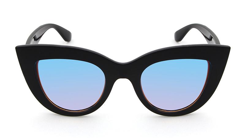 HTB1WiiORpXXXXcoXpXXq6xXFXXXT - Women's cat eye sunglasses ladies Plastic Shades quay eyewear brand designer black pink sunglasses PTC 221