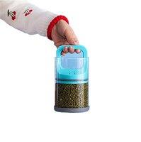 Vacuum Glass Storage Box 15 9 5cm Pull Out Crisper Food Grade ABS Resist High Temperature