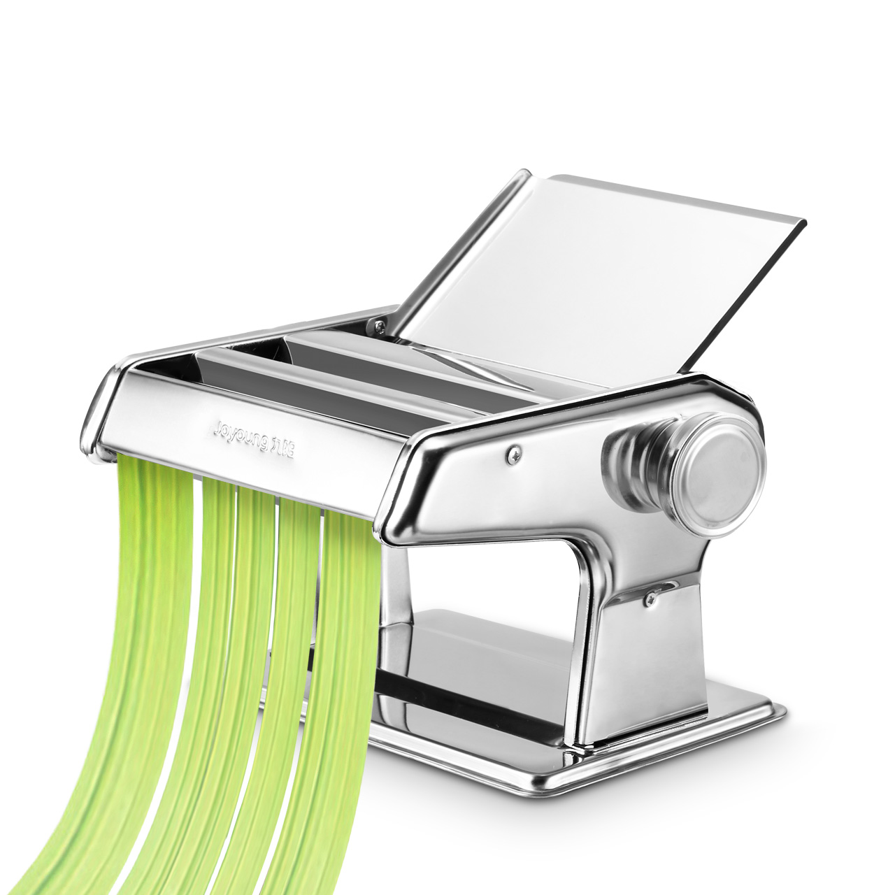 Jo Noodles Maker Machine Ajustable Thickness Handheld Stainless Steel Dough Pressing Machine Spaghetti Pasta Maker Brand