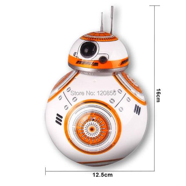 Star Wars RC BB-8 Robot Star Wars 2.4G remote control BB8 robot Action Figure Robot Intelligent Ball Toys