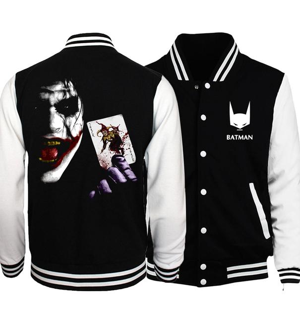 Men Comics Spring Bomber Jacket Sportswear