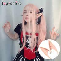 1 paar Mysterious Engel Elf Ohren Fee Cosplay Zubehör Halloween Weihnachten Party Latex Soft Spitz Tipps Falsche Ohren Requisiten