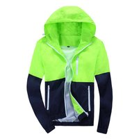 Spring Autumn Men S Women S Summer Casual Jacket Hooded Jacket Fashion Thin Windbreaker Zipper Coats