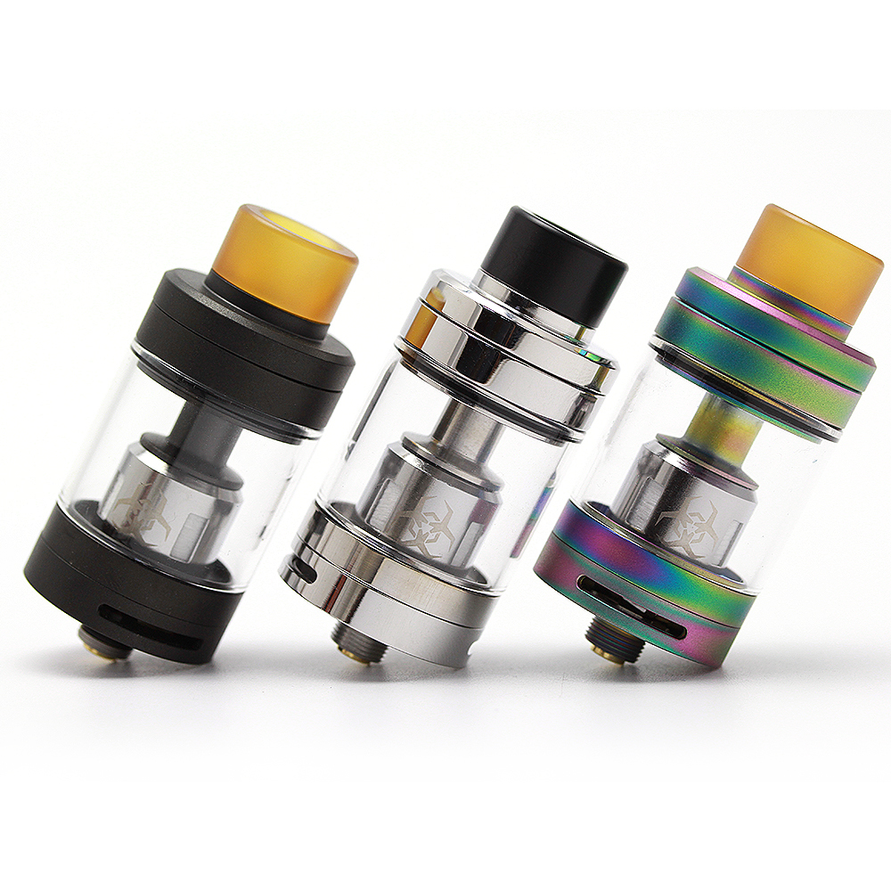 D'origine Advken Dominator Subohm Réservoir 24mm avec Diy pont cigarette électronique atomiseur réservoir pour 510 fil vaporisateur mod vs TFV 8