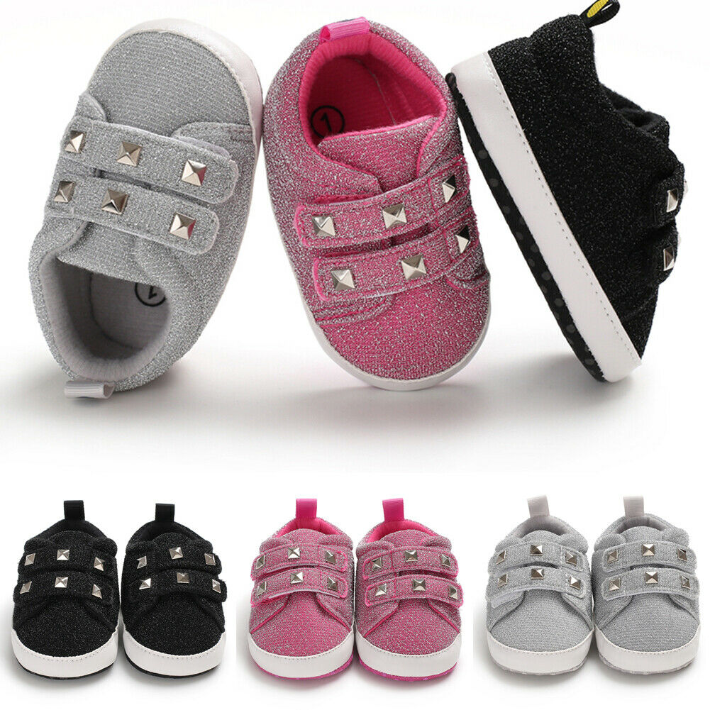 New Baby Boys Girls Toddler Shoes Cute Soft Sole Baby Shoes 0-18month