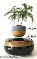 Магнитной левитации Air бонсай (без завод) керамический цветок маленький дерево сад горшки культуры Бесплатная доставка