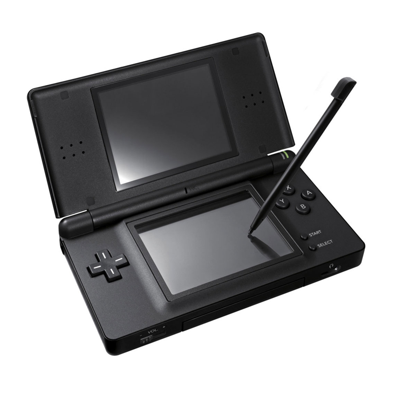 Handheld Game 2.7 inch LCD displays 4-Way Cross Keypad Polar System & Games Console Bundle Charger & Stylus for NDSL image