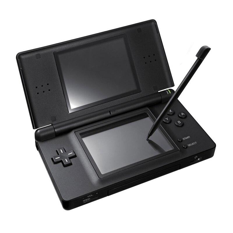 Jogo Handheld 2.7 polegada LCD exibe 4-Way Sistema de Teclado Cruz Polar & Jogos Console Bundle Carregador & Stylus para NDSL