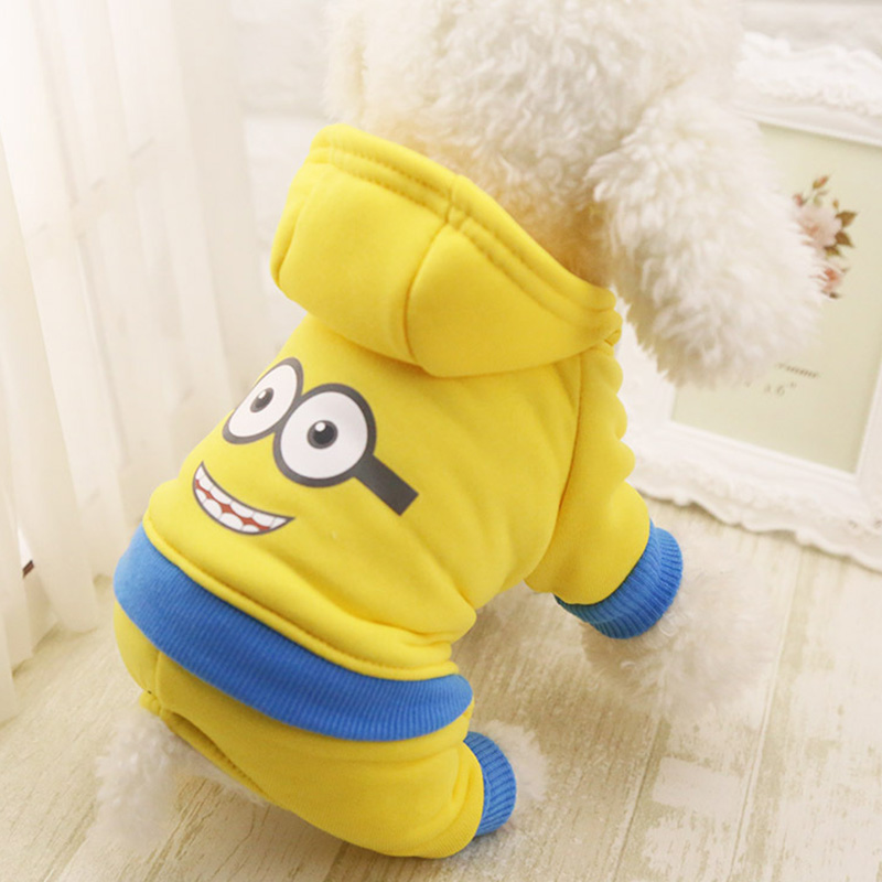 Cotton Dog Clothes Pet Hoodies For Dogs Jumpsuits Cotton Dog Hoody Puppy Costume Pet Clothes For Dogs Coat Jackets Pets Outfits #3