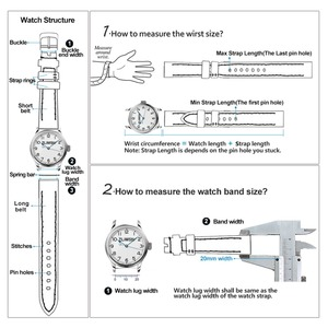 Image 4 - ZLIMSN Crocodile Leather Watch Band Quick Installation Mens Women Luxury Strap Size 12mm 26mm Suitable for Apple 38mm 42mm Watch