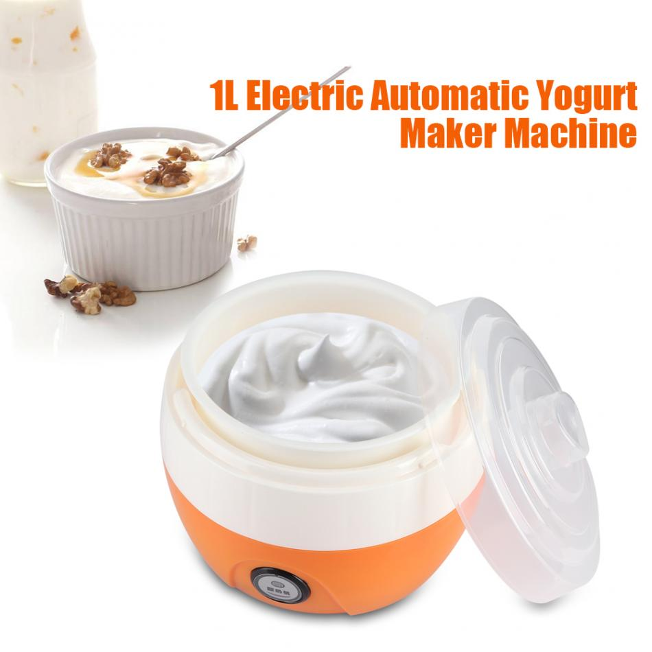 Yogurt Maker Machine 220V Electric Automatic  Yoghurt DIY Tool Plastic Container Kithchen Appliances
