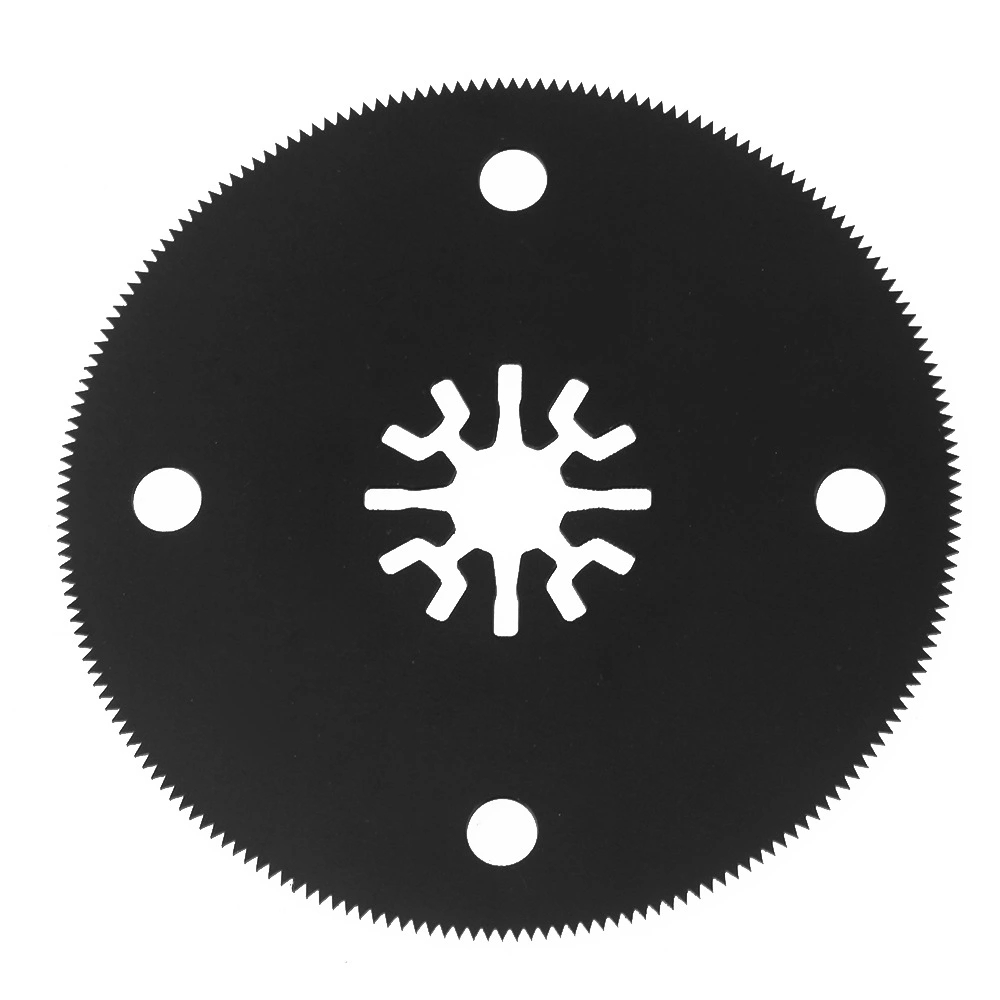 80mm Black M20 High Speed Steel Oscillating Multitool Circular Universal Saw Blades