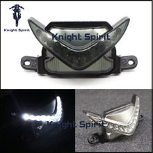 For Honda CBR 600RR 600 RR 2007-2012 Motorcycle Accessories LED Super Bright Front Headlight Drive Auxiliary Lamp Fog Light