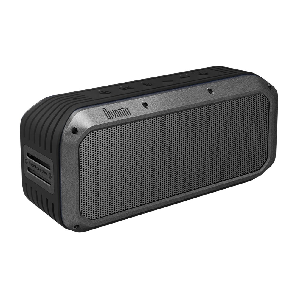 Divoom Voombox Power Portable Bluetooth Speaker 30w Heavy bass with  6000 mAh charger Power bank compatible for ios android