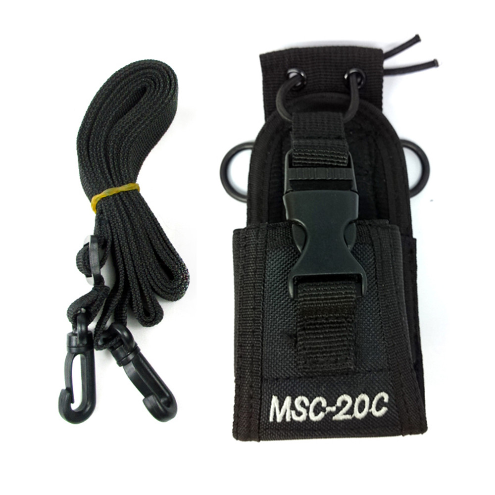 Radio Case Holder MSC-20A MSC-20B MSC-20C MSC-20D MSC-20E Nylon Carry Case For Baofeng UV-5R UV-82 UV-888S UV-9R Walkie Talkie