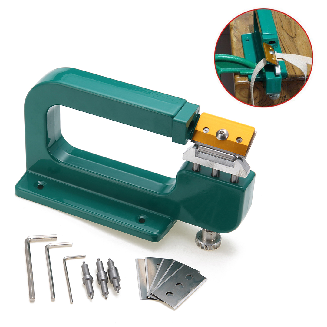 New Manual DIY Leather Craft Splitter Leather Peeling Tools Skiver Paring Peeling Machine Edge Cuting Skiving Shovel Mayitr 5pcs u v shaped working hand leather trench stitching groover skiving edge diy craft keen edge beveler leathercraft tools kit