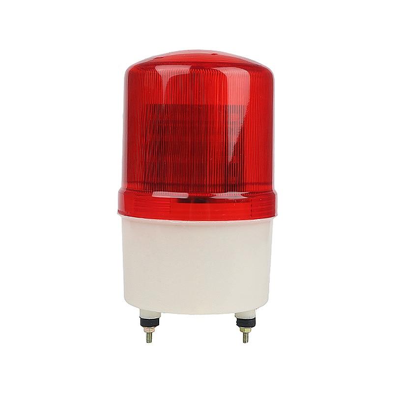 Industrial Signal Buzzer Sound Alarm Light 110V 220V DC 12V 24V Rotary Strobe Flash Siren Emergency Warning Lamp Red LTE-1101JIndustrial Signal Buzzer Sound Alarm Light 110V 220V DC 12V 24V Rotary Strobe Flash Siren Emergency Warning Lamp Red LTE-1101J
