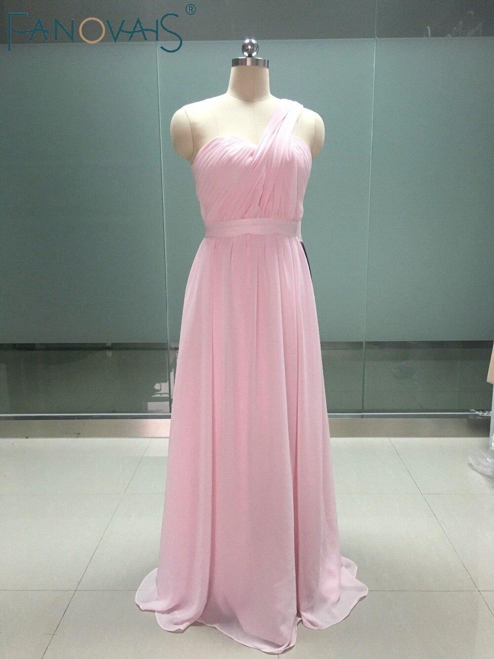 Único El Vestido De La Dama De Honor Del Hombro Imagen - Colección ...