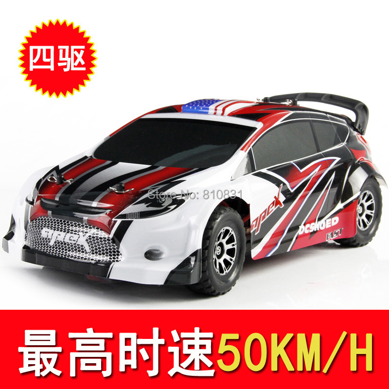 Weili A949 2.4G remote control four-wheel drive sport utility vehicle dragster 1:18 remote control model toys