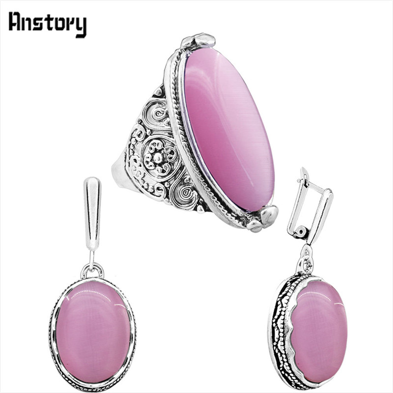 earring ring-Pink