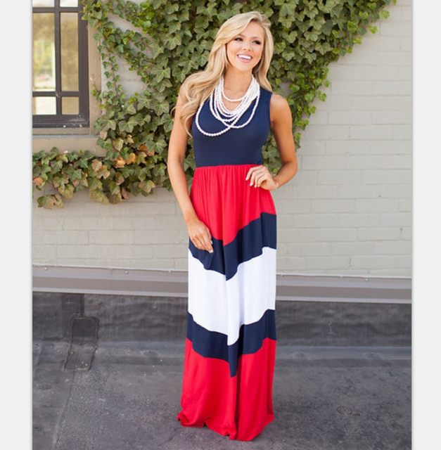 Online Shop July 4th Family Matching Dresses Mommy and Me American ...