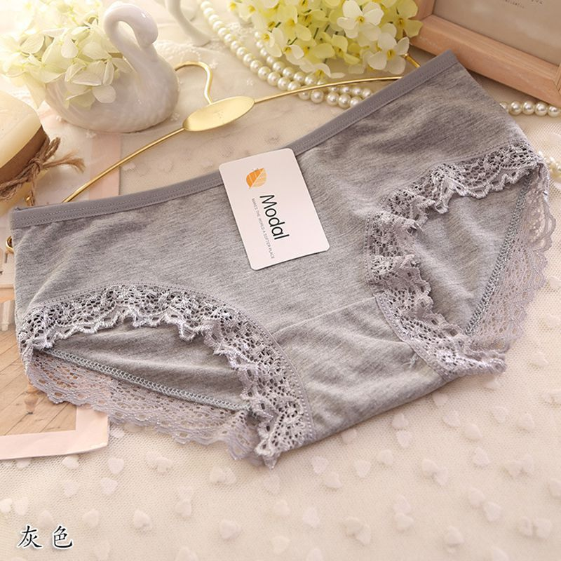 US Warehouse Summer Panties Womens Briefs Cotton Lace Panties Hipster Casual Girls Underwear Breathbale Underwear Ropa Interior