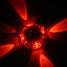 Magnetische Led Emergency Veiligheid Flare Rood Licht Magneet Knipperend Night Lights Berm Disc Baken Voor Auto Vrachtwagen Boot