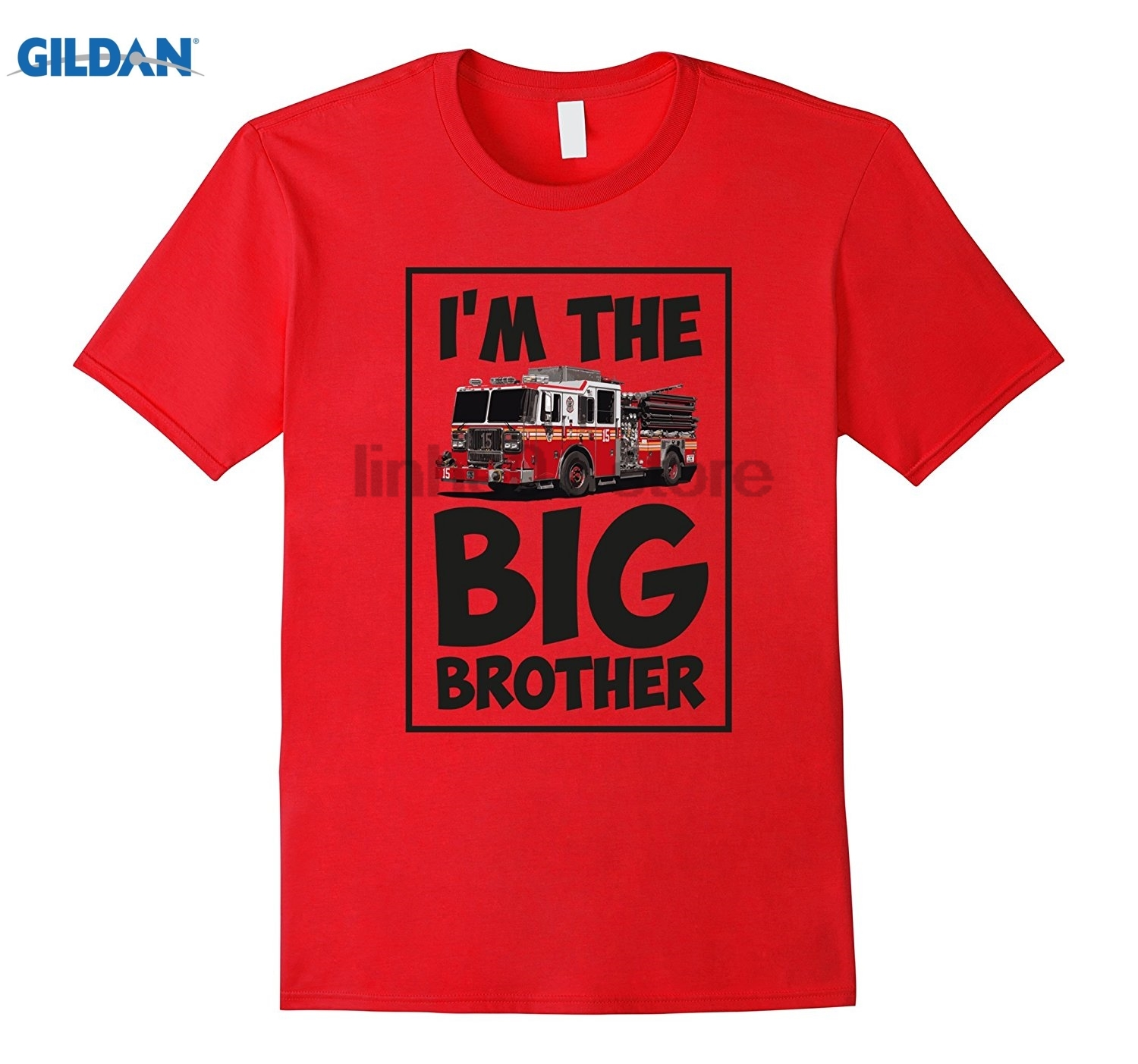 GILDAN IM THE BIG BROTHER Fireman shirt toddler boys kids Hot Womens T-shirt dress T-shirt