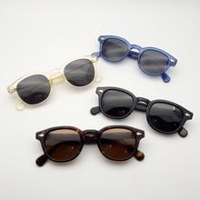 Top quality Johnny Depp Sunglasses Men Women Polarized Sun glasses Acetate Eyewear frame Driving Shades Male Brand Designer Z082