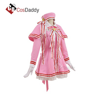 Cardcaptor Sakura Cosplay Pink Dress Costume sexy Dresses 2018 new arrival hot sale CosDaddy
