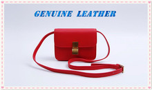 DZ017.Spring and summer simple leather shoulder bag small square package fashion wild shoulder diagonal package ladies Luxury