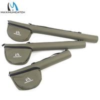 Maximumcatch Fly Fishing Rod Tube Triangle Fly Rod Case Cordura Storage Fly Rod Bag