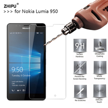 2.5D 0.26mm 9H Premium Tempered Glass For Microsoft Lumia 950 Screen Protector T