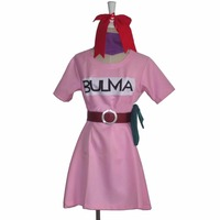 2017 Dragonball Z Bulma Cosplay Costume Anime Costume Custom made Halloween carnival cosplay costume